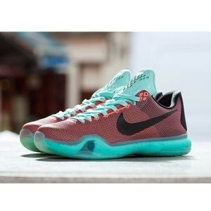 Nike KOBE X EASTER PACK HOT LAVA GS Basketball
